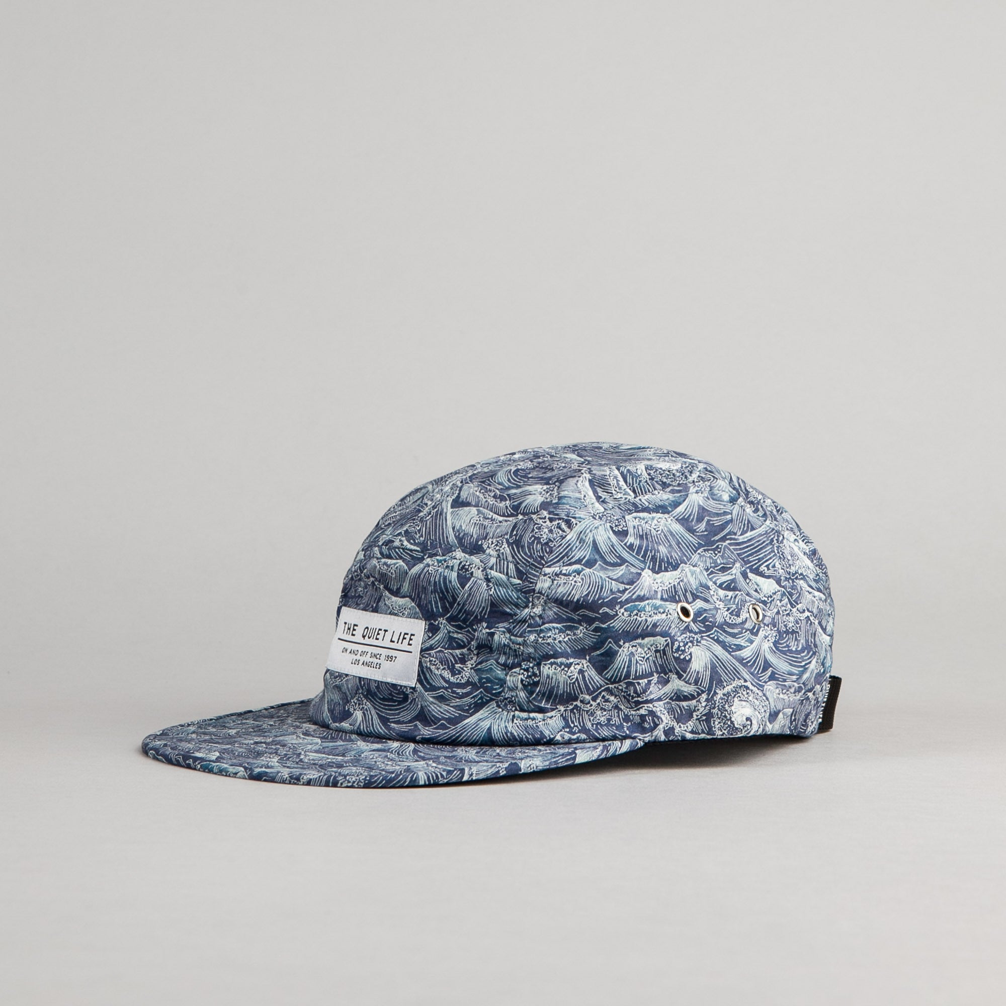 The Quiet Life Waves 5 Panel Cap - All Over Print
