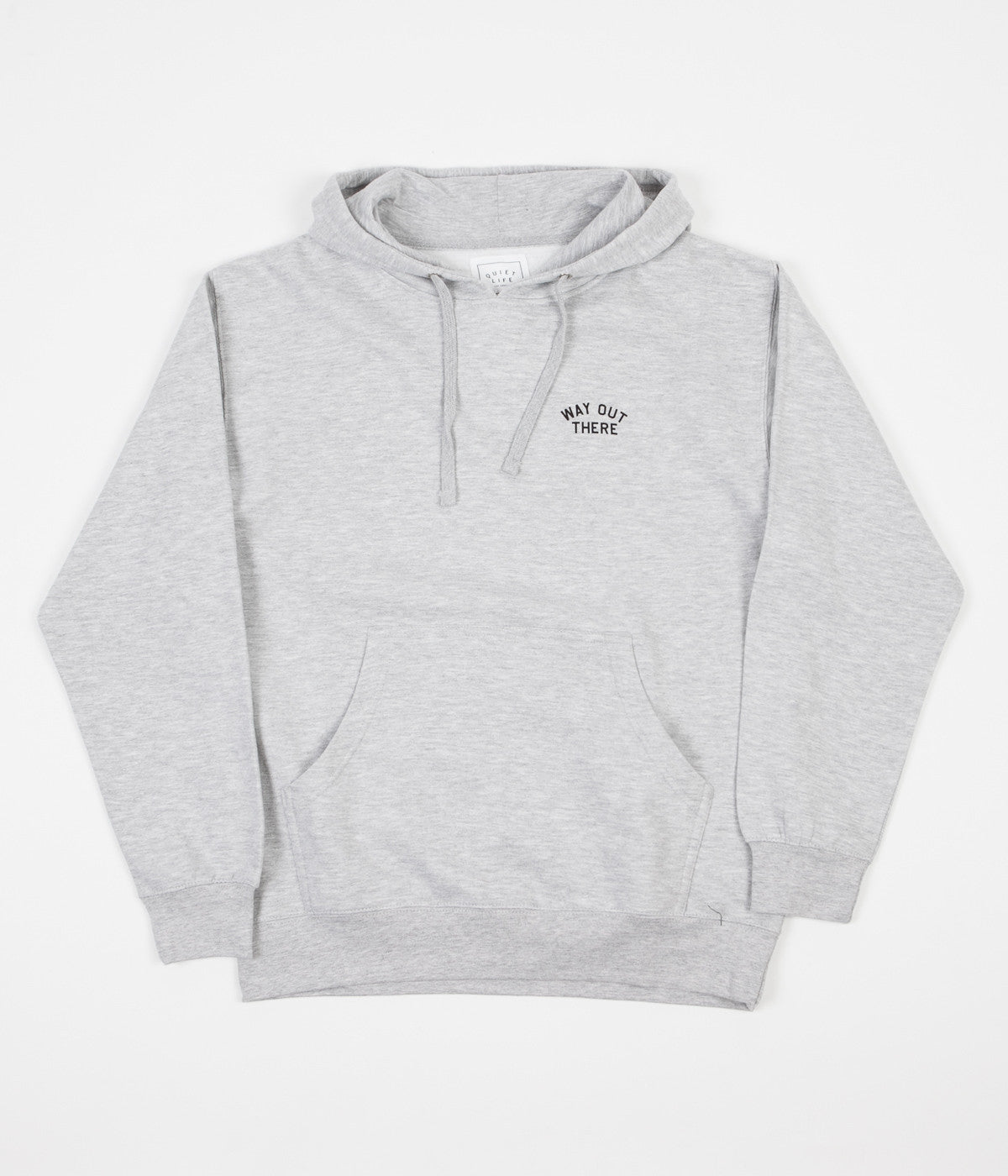The Quiet Life Way Out Hooded Sweatshirt - Heather Grey