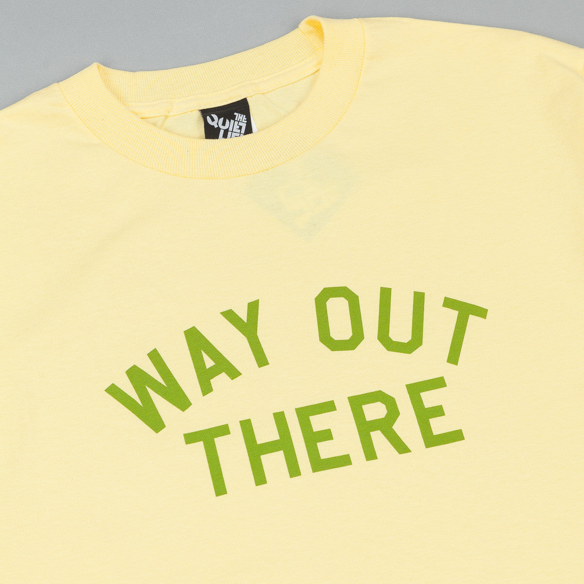 The Quiet Life Way Out There T-Shirt - Yellow