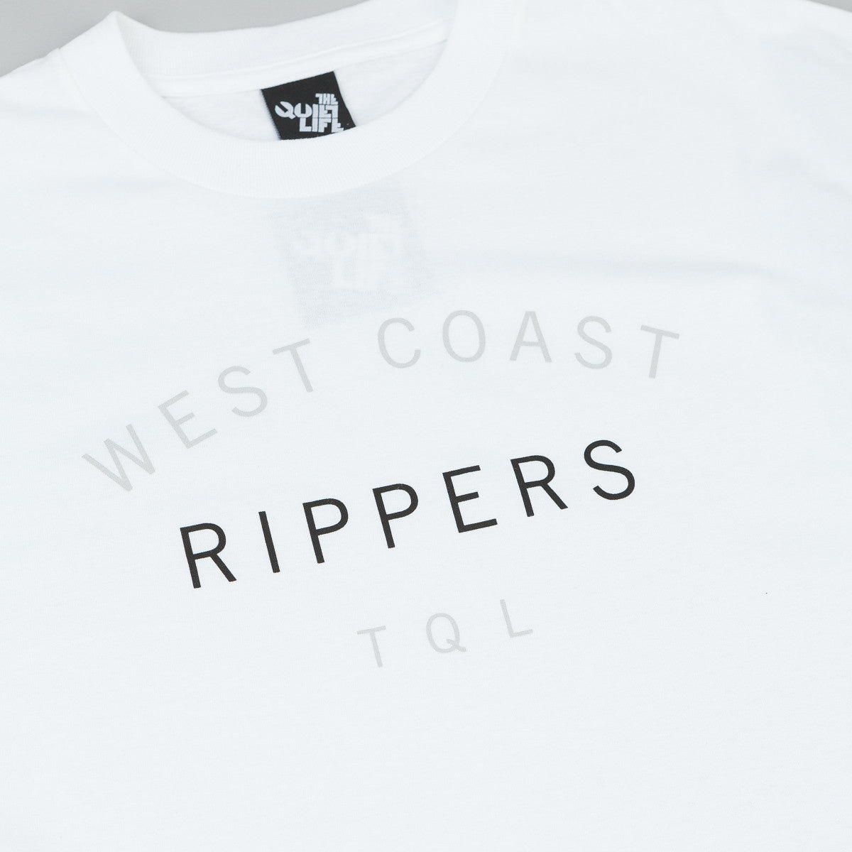 The Quiet Life West Coast Rippers T-Shirt - White