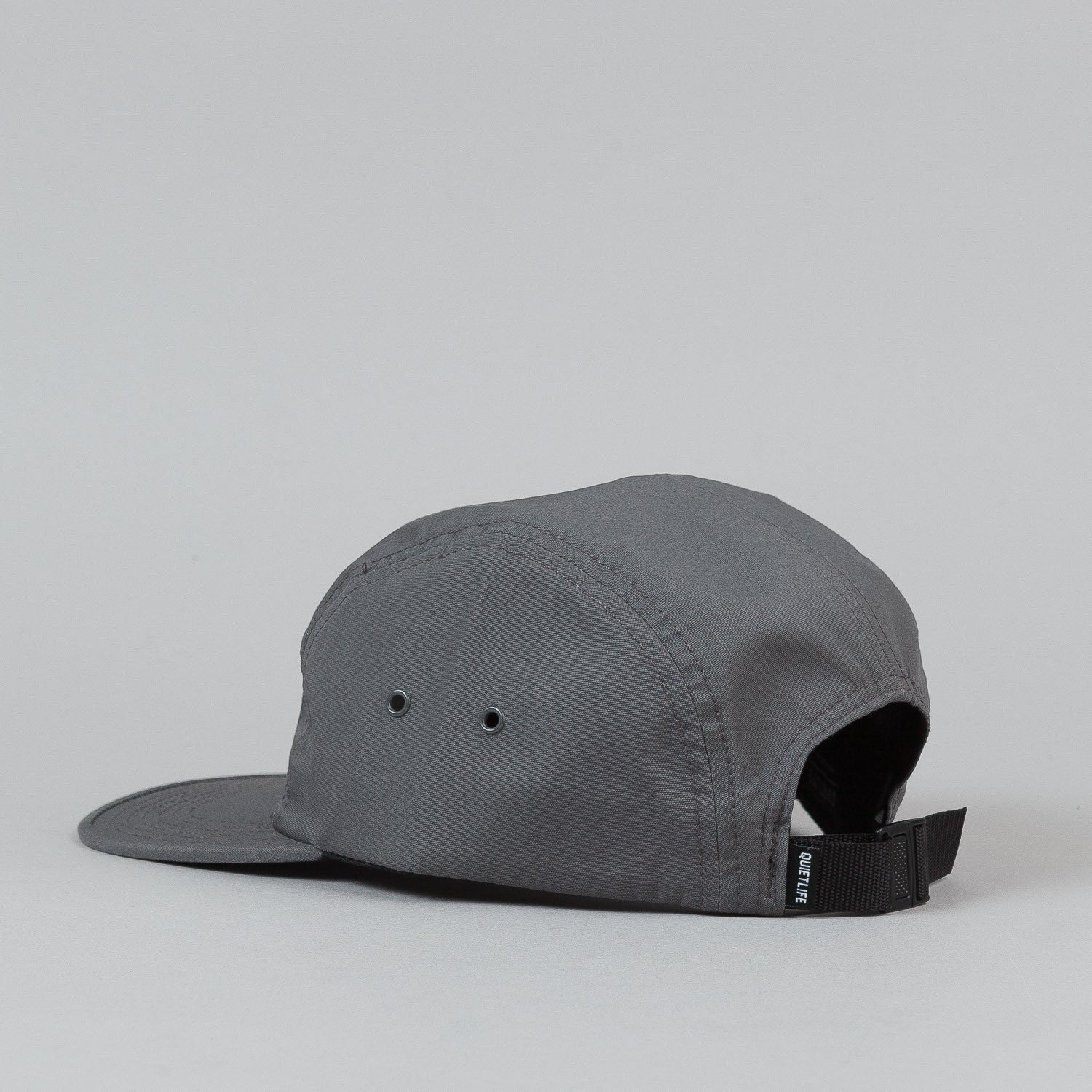 The Quiet Life Whisper 5 Panel Cap - Grey