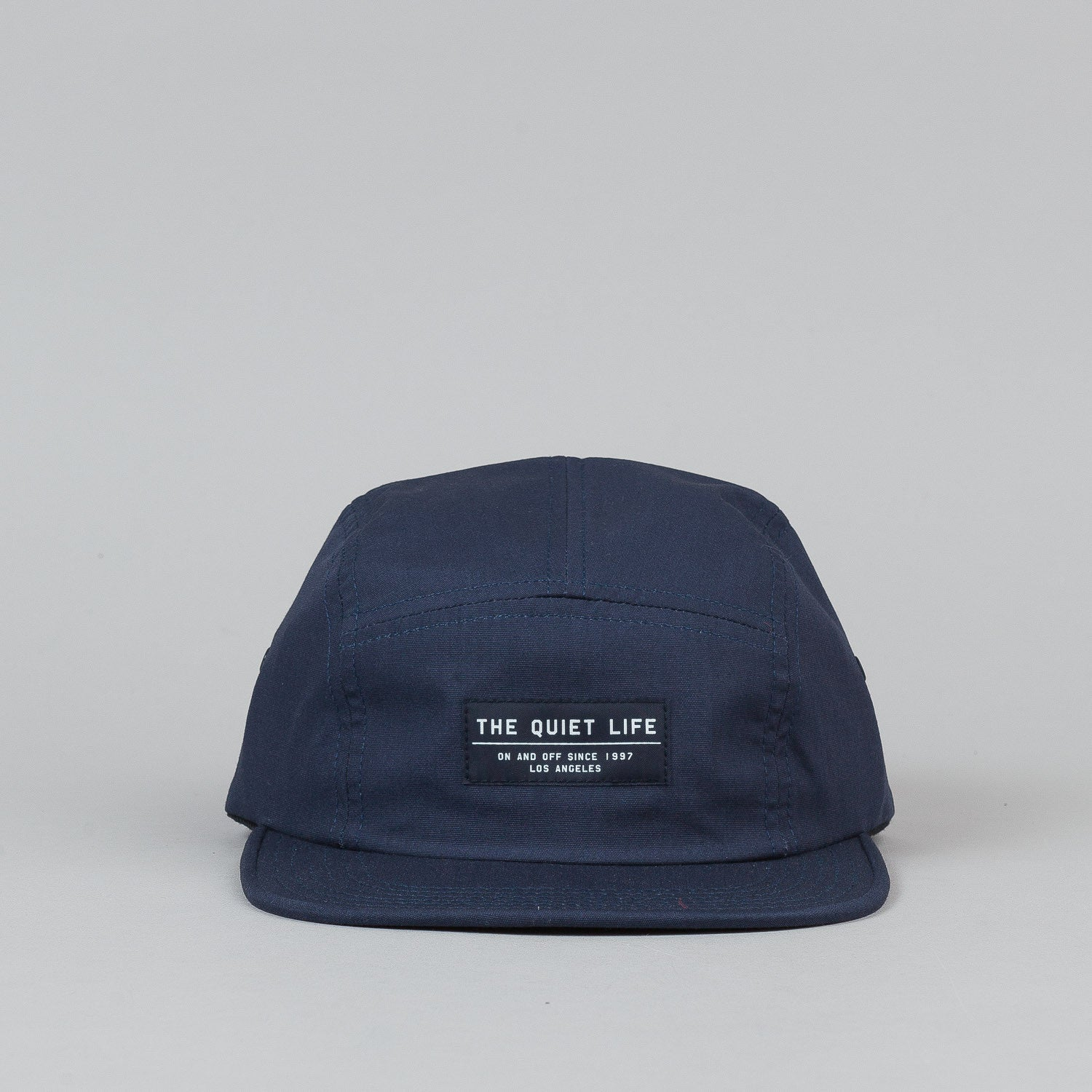 The Quiet Life Whisper 5 Panel Cap - Navy