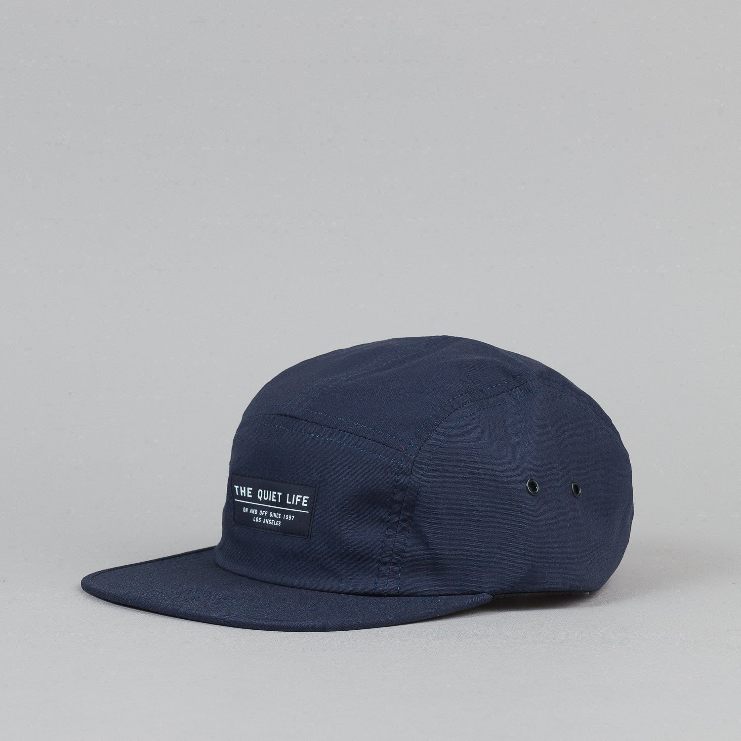 The Quiet Life Whisper 5 Panel Cap Navy
