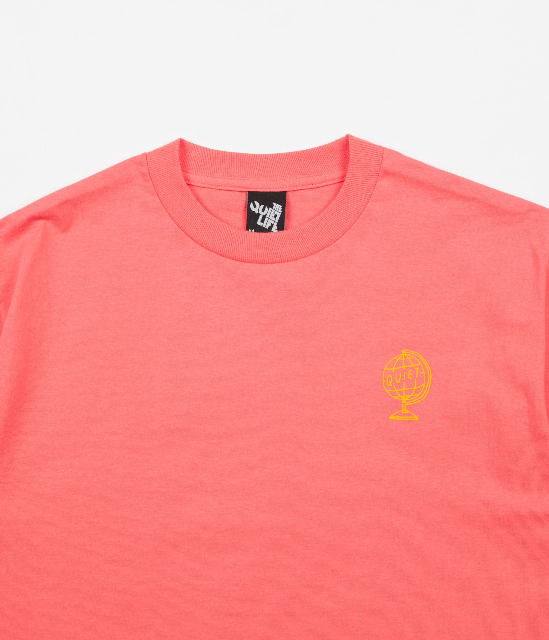 The Quiet Life Wildworld T-Shirt - Coral