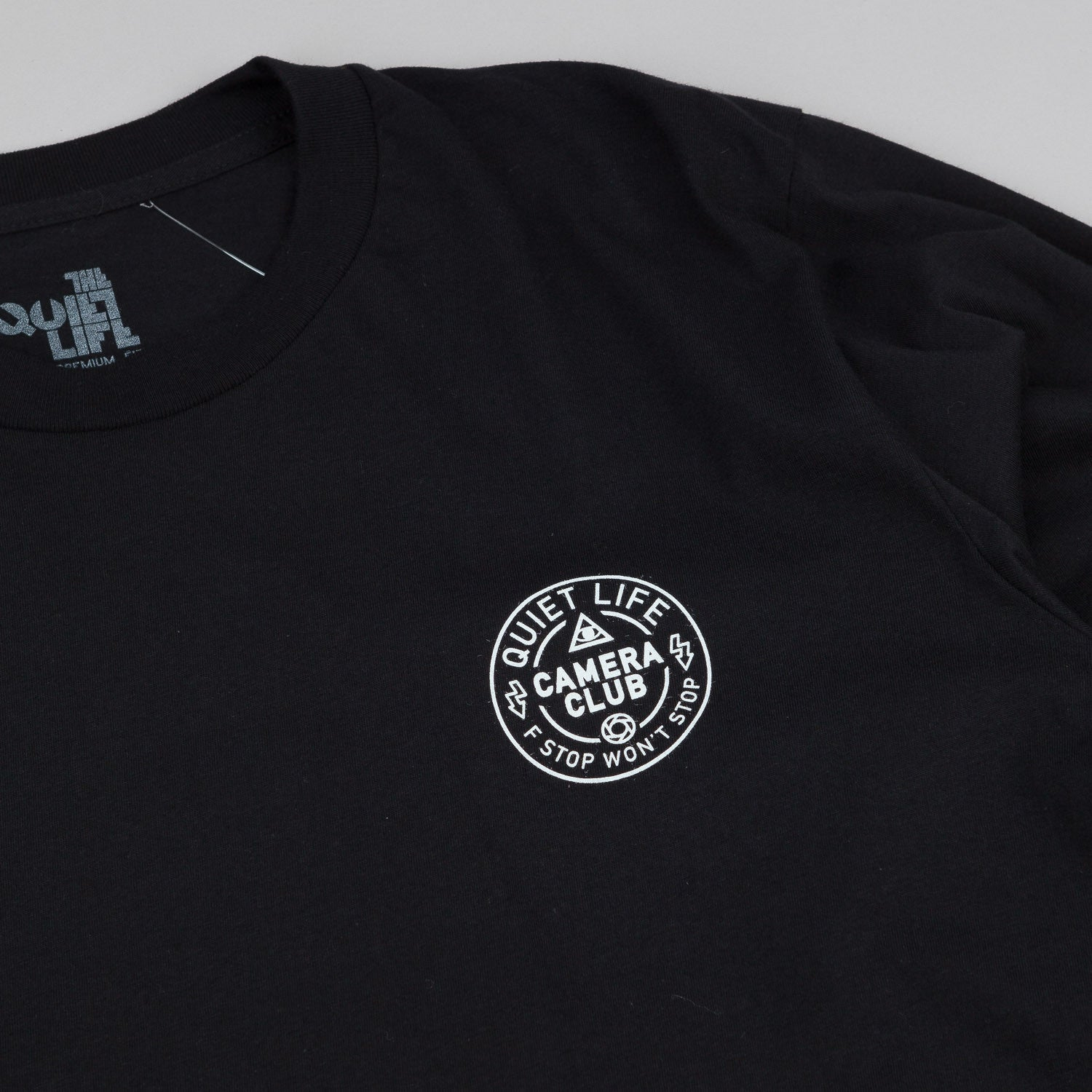 The Quiet Life Won't Stop L/S T-Shirt - Black