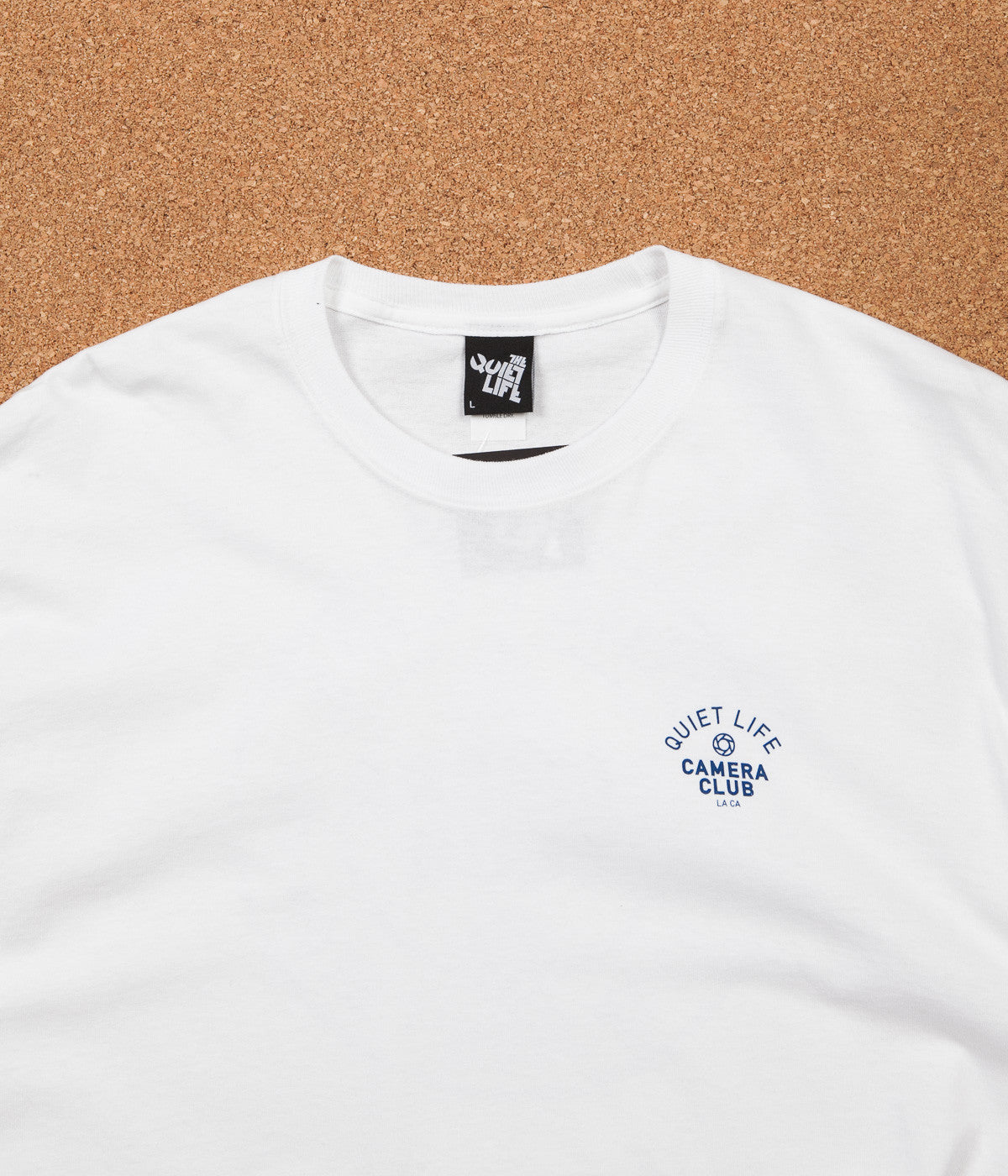 The Quiet Life Won't Stop Long Sleeve T-Shirt - White