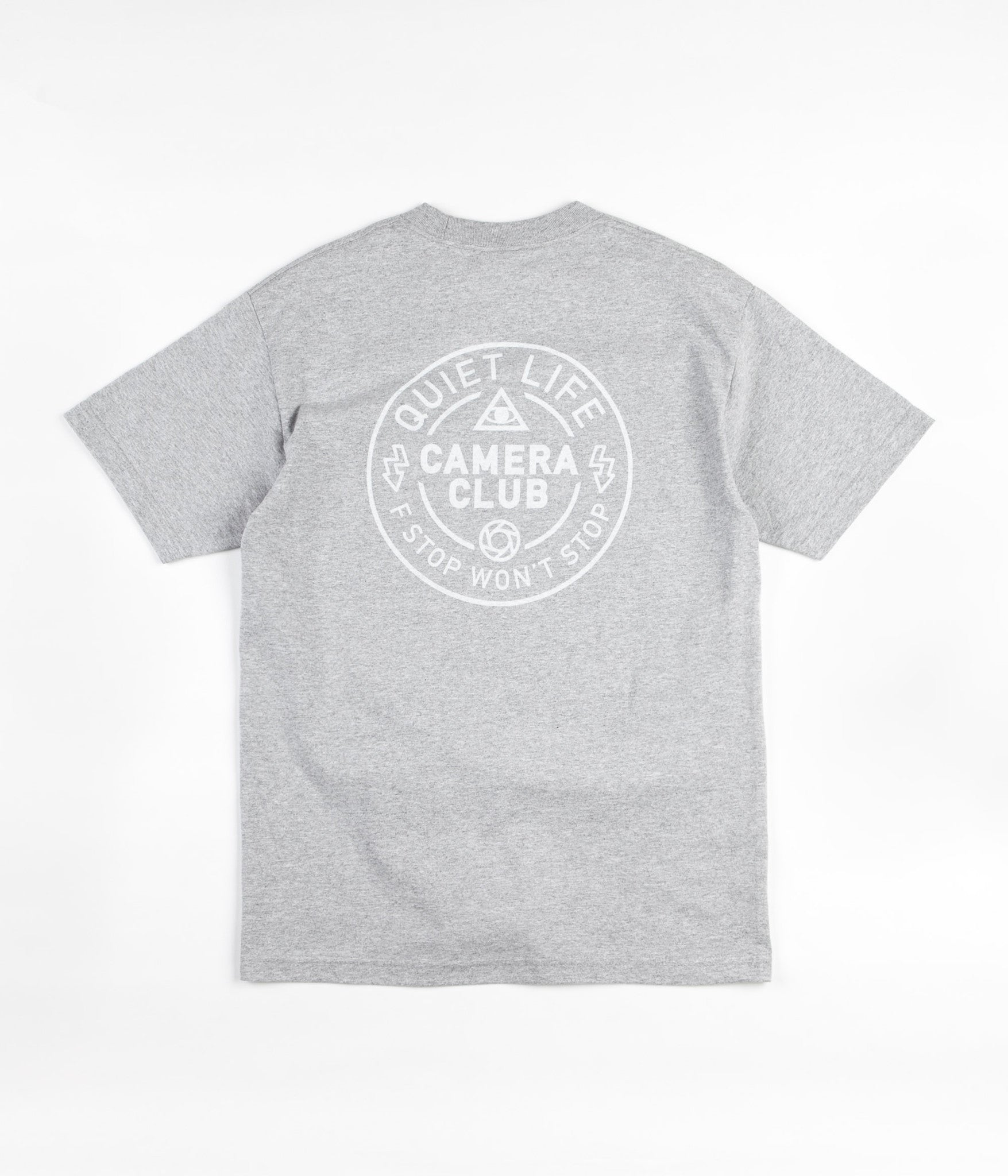 The Quiet Life Won't Stop T-Shirt - Heather Grey