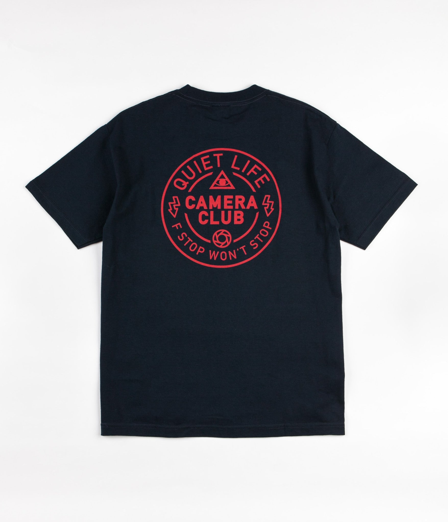 The Quiet Life Won't Stop T-Shirt - Navy