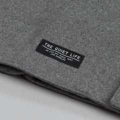 The Quiet Life Wool Fishtail Jacket Heather Grey