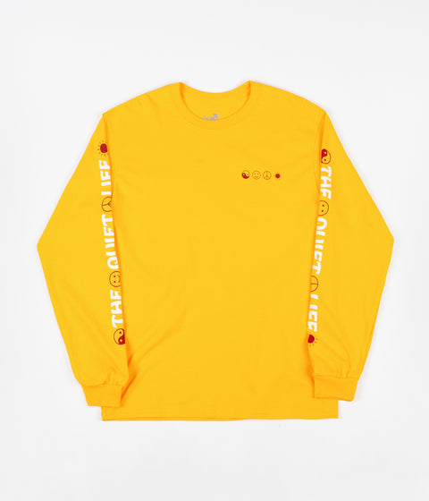 The Quiet Life World Peace Long Sleeve T-Shirt - Gold