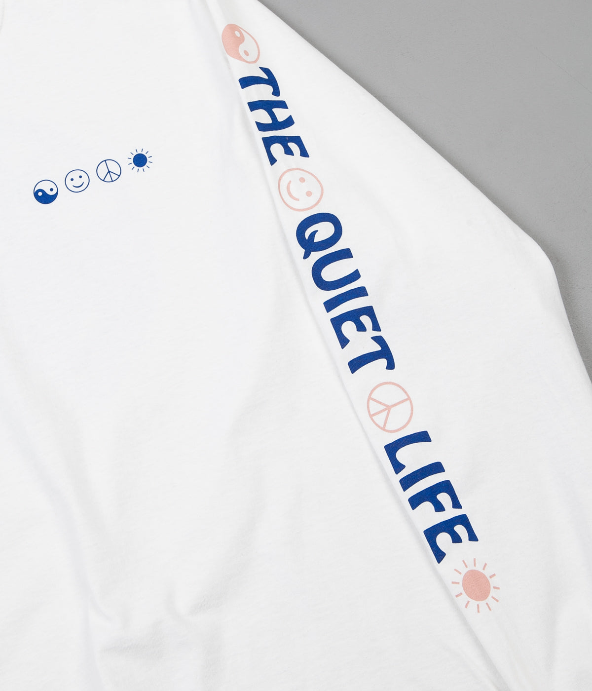 The Quiet Life World Peace Long Sleeve T-Shirt - White