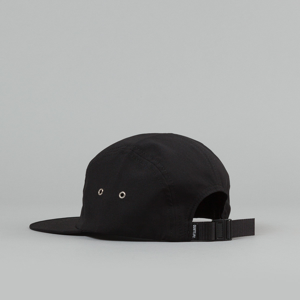 The Quiet Life Xanadu 5 Panel Cap - Black