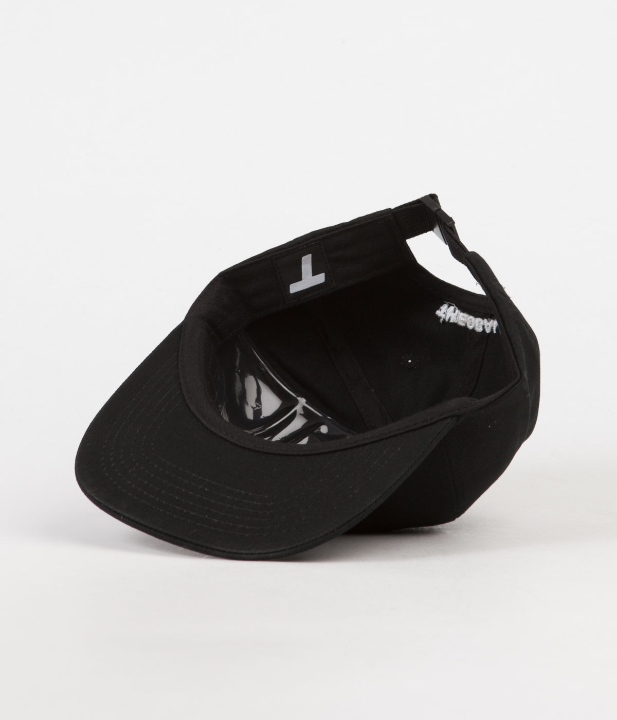 Theobalds Cap Co. Classic T 6 Panel Cap - Black / White