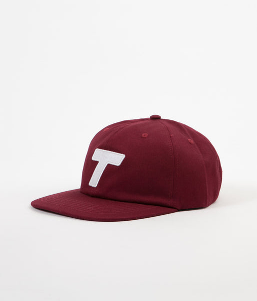 Theobalds Cap Co. Classic T Ball Cap - Wine