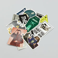 Theories Sticker Pack (13 Stickers)