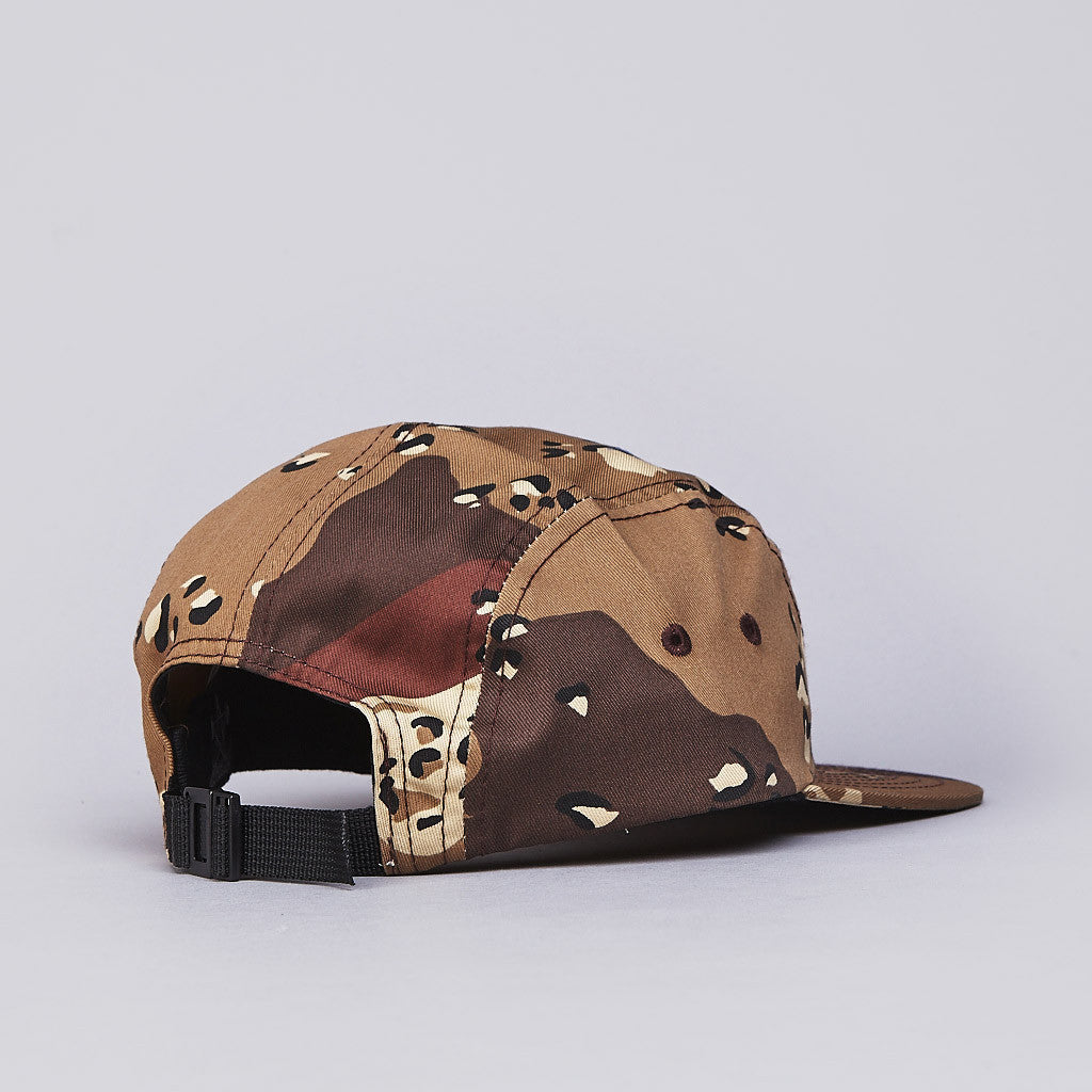Thrasher 5 Panel Cap Desert Camo