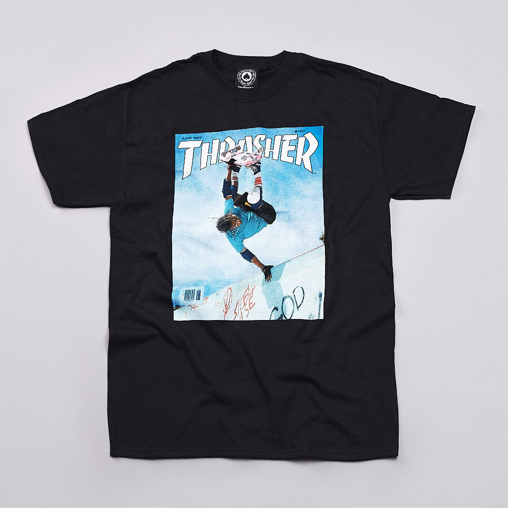 Thrasher Cab Cover T Shirt Black