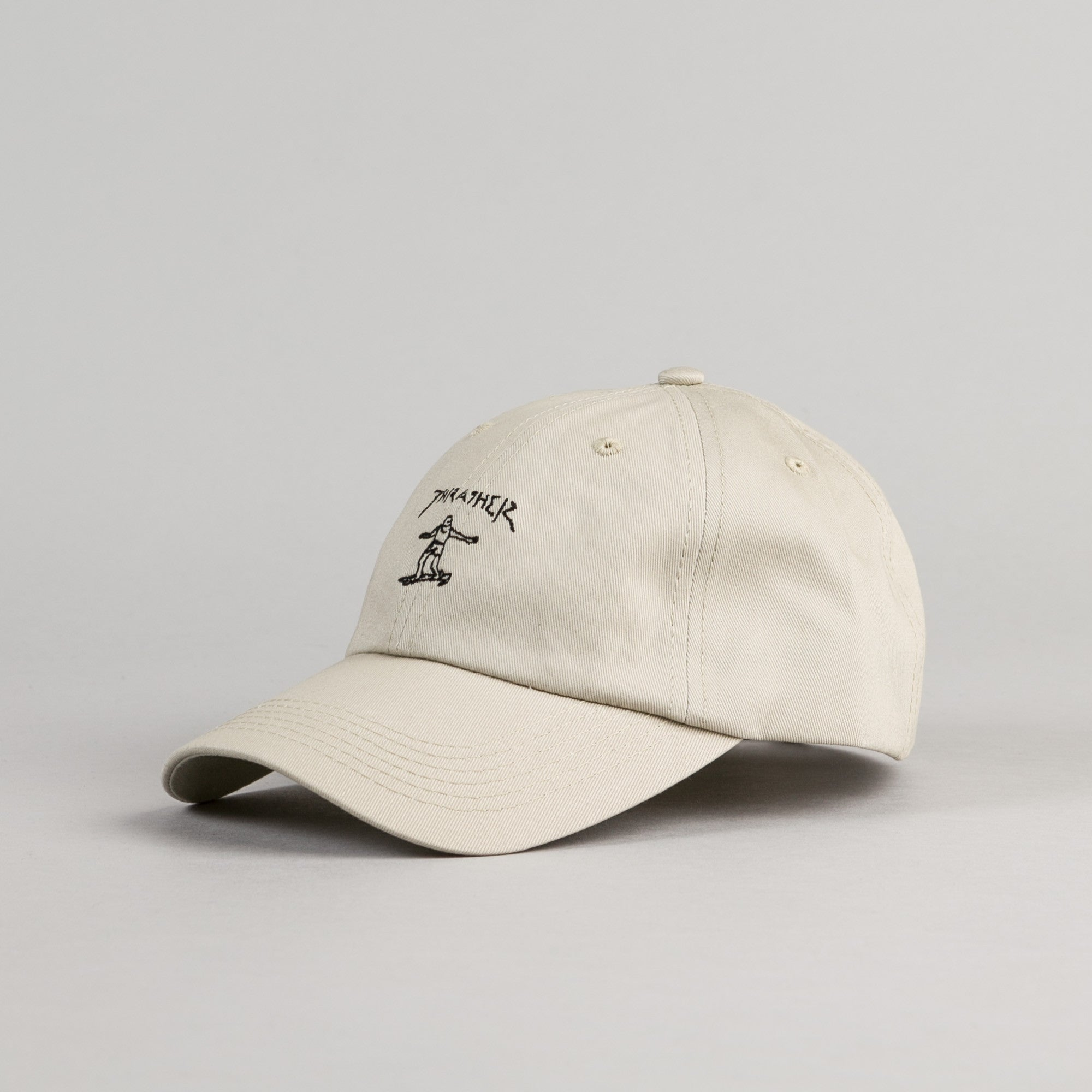 Thrasher Gonz Old Timer Cap - Tan / Black