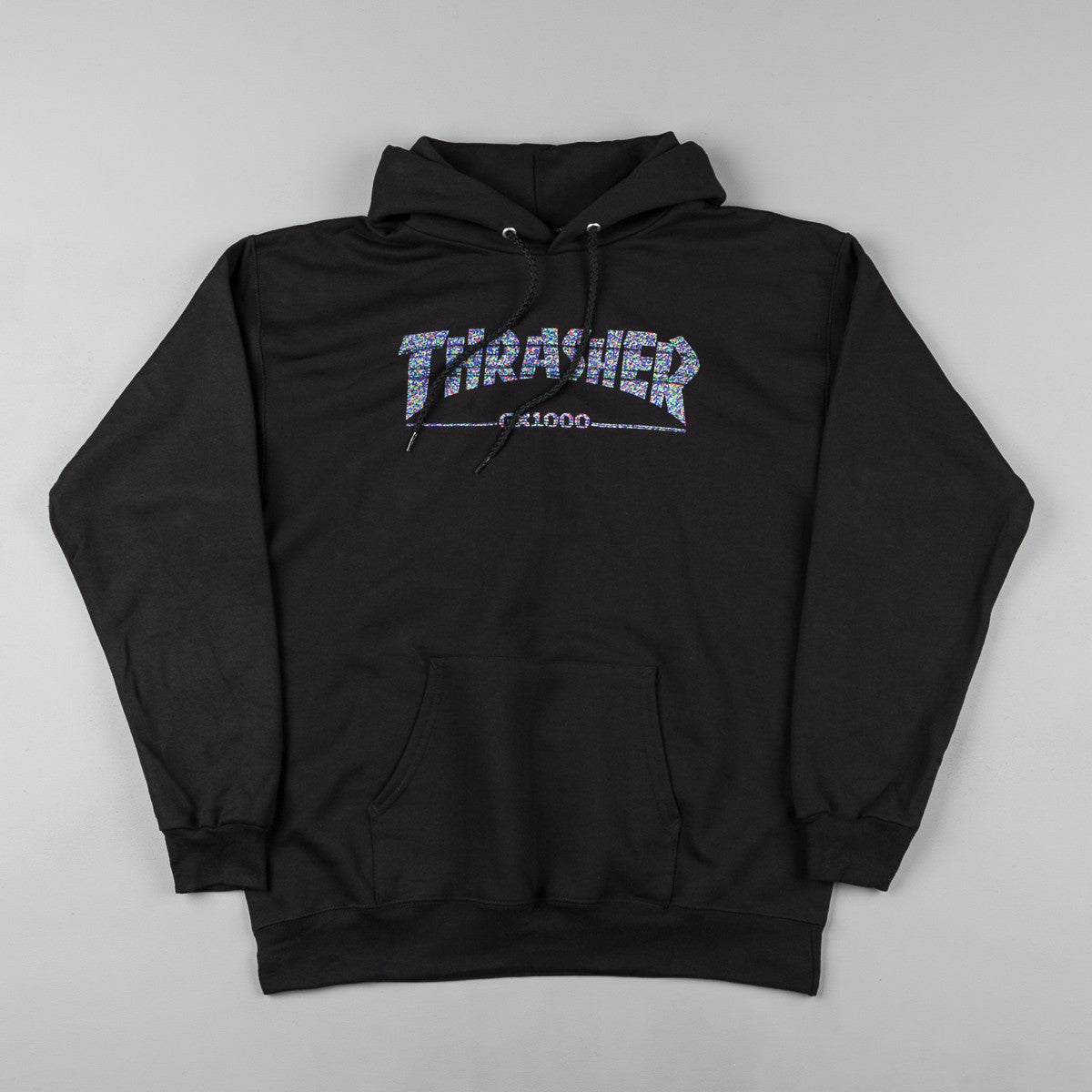 Thrasher X GX1000 Hooded Sweatshirt - Black