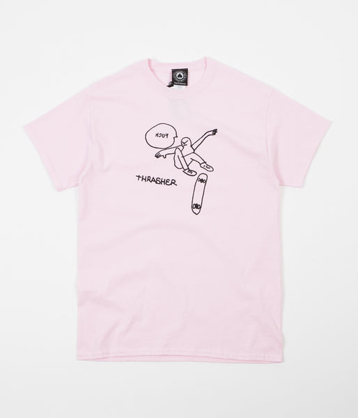 Thrasher KCUF T-Shirt - Light Pink