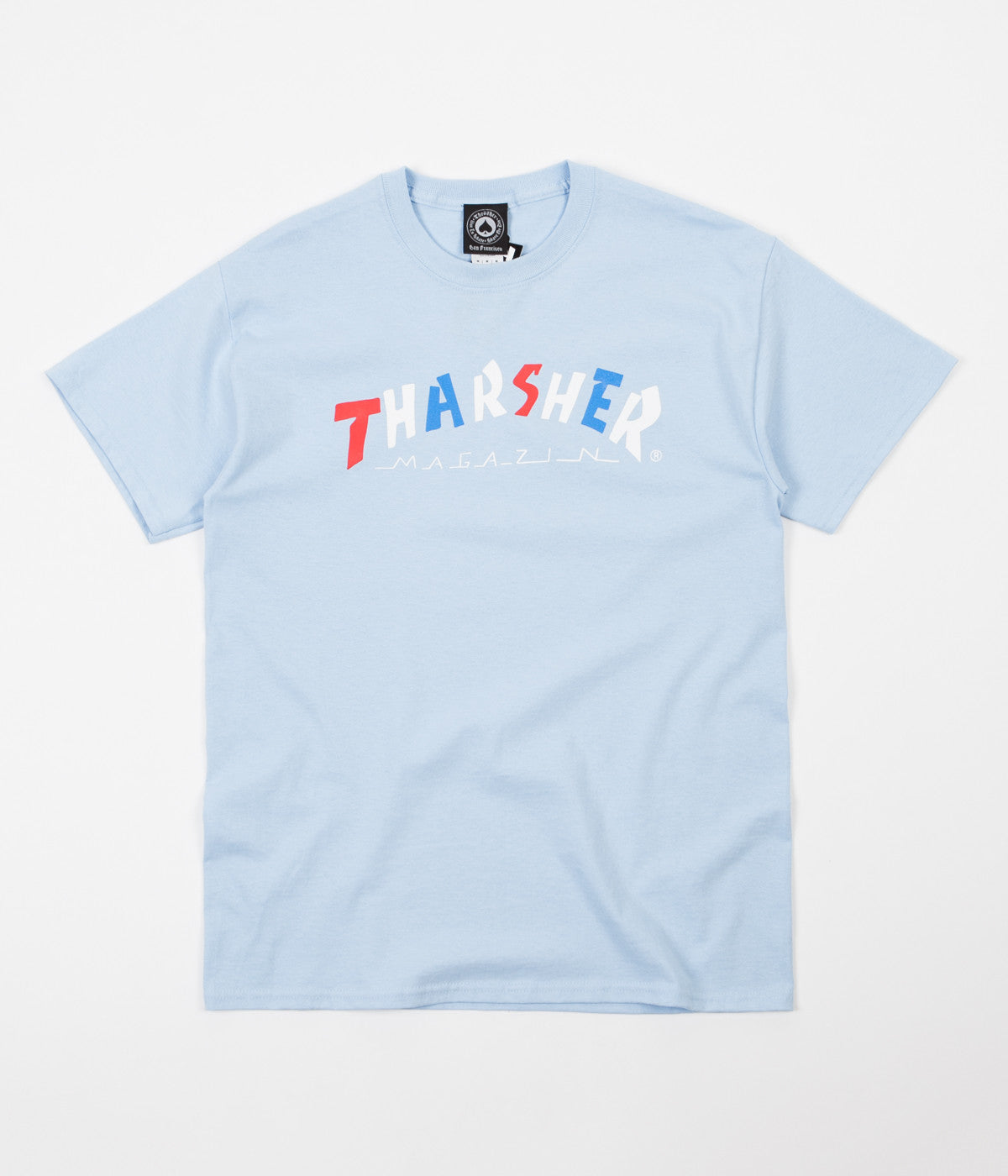 Thrasher Knock-Off T-Shirt - Light Blue