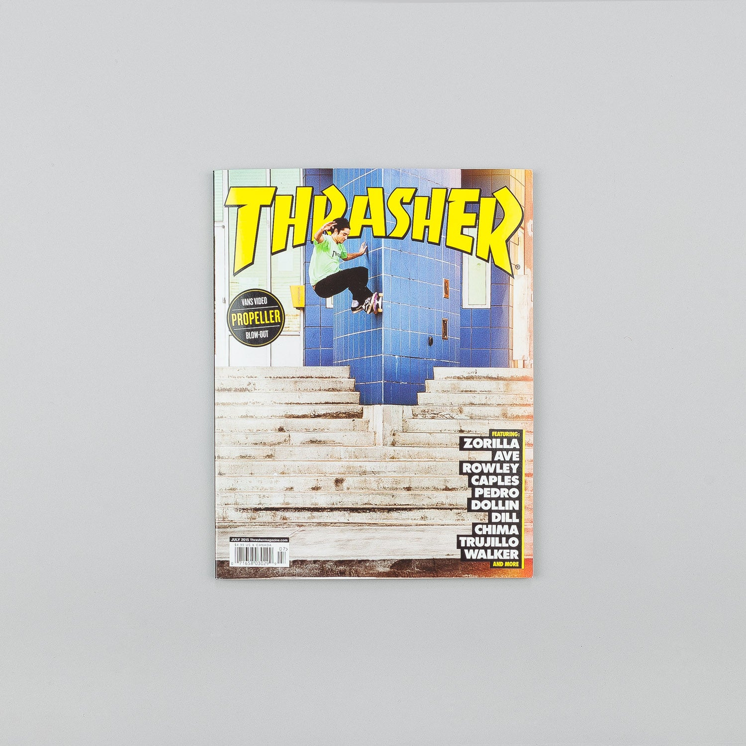 Thrasher Magazine - July 2015