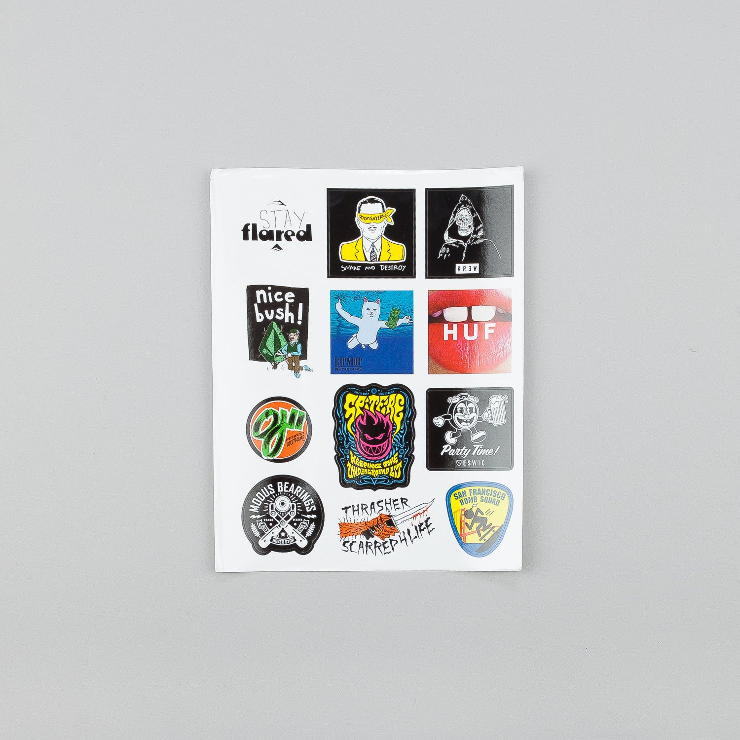 Thrasher Magazine - July 2015 w/ Sticker Sheet