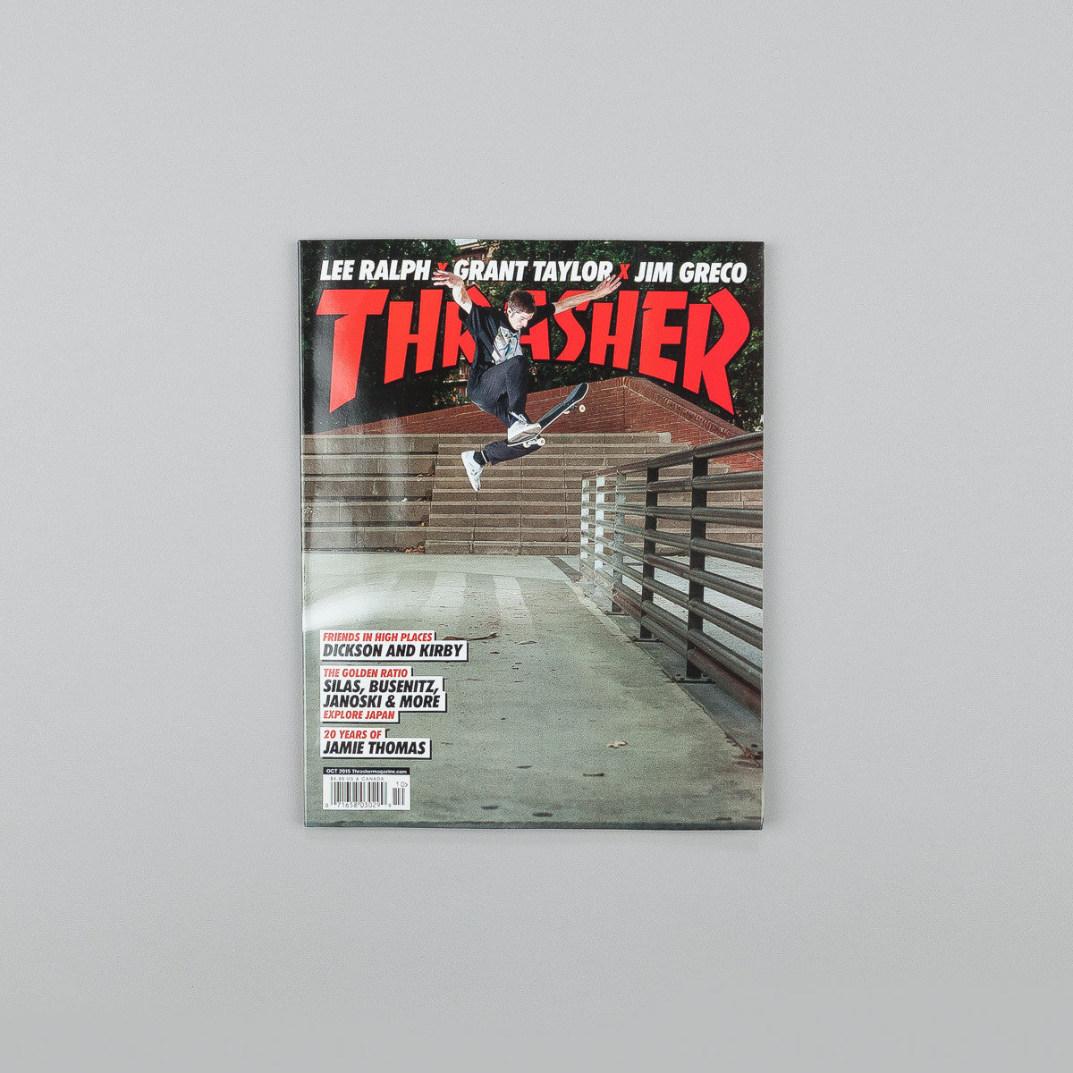 Thrasher Magazine - October 2015