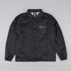 Thrasher Skate And Destroy Coach Jacket Black