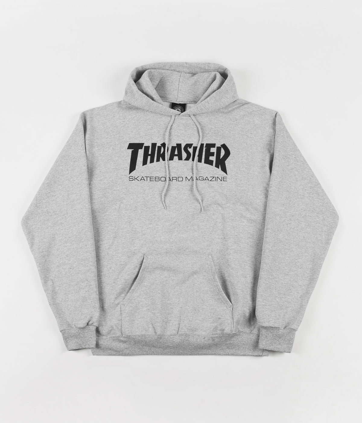 1a745d598c96 Thrasher Skate Mag Logo Hooded Sweatshirt - Heather Grey | Flatspot