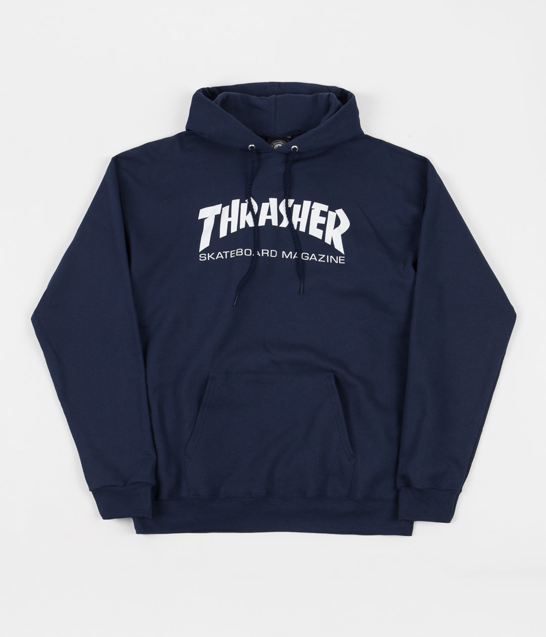 Thrasher Skate Mag Logo Hooded Sweatshirt - Navy