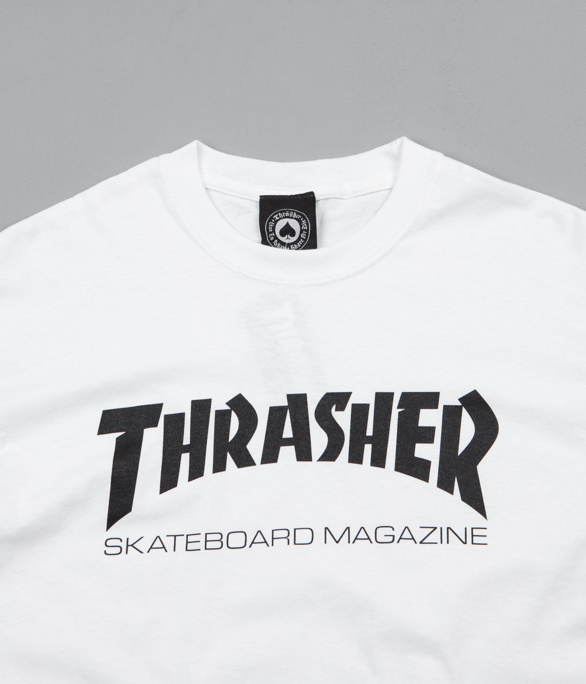 Thrasher Skate Mag T-Shirt - White