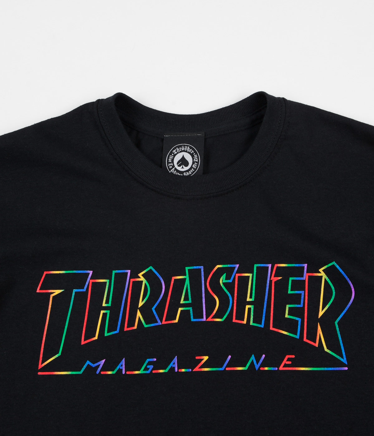 Thrasher Spectrum T-Shirt - Black