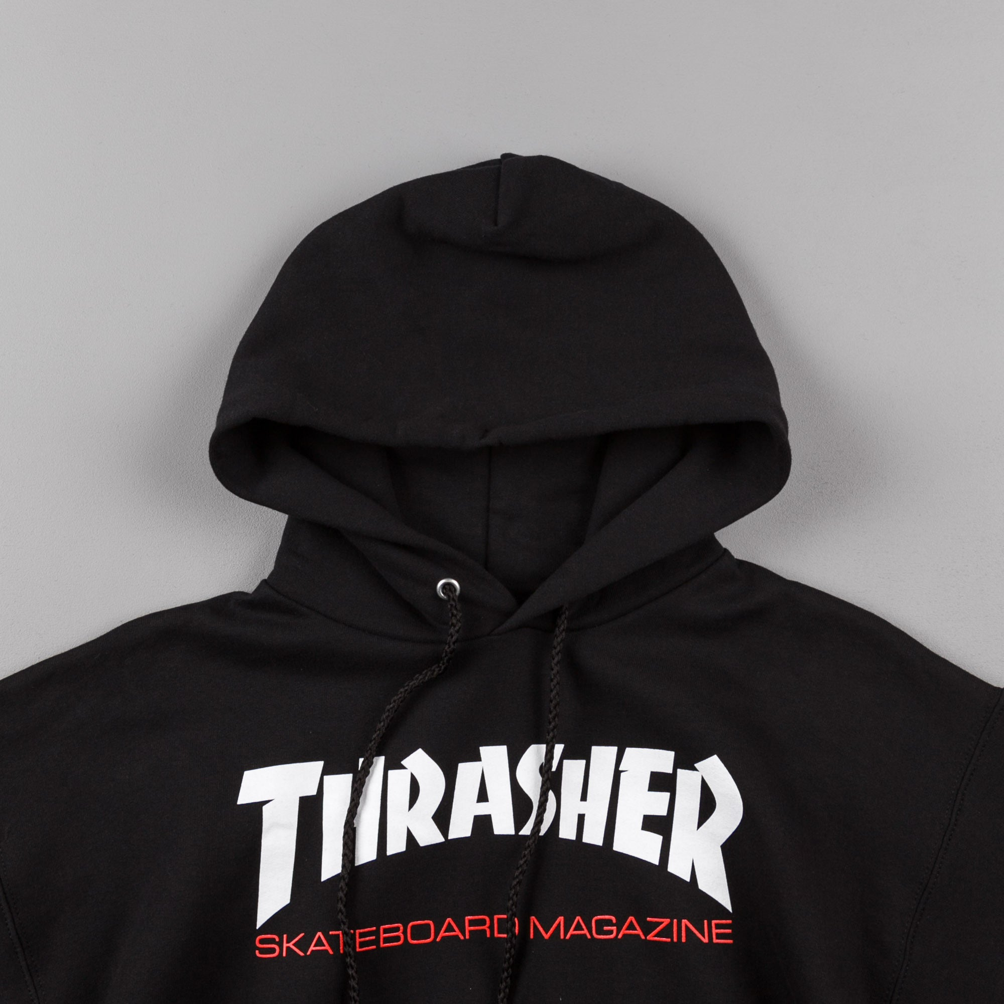 Thrasher Two Tone Skate Mag Hooded Sweatshirt - Black