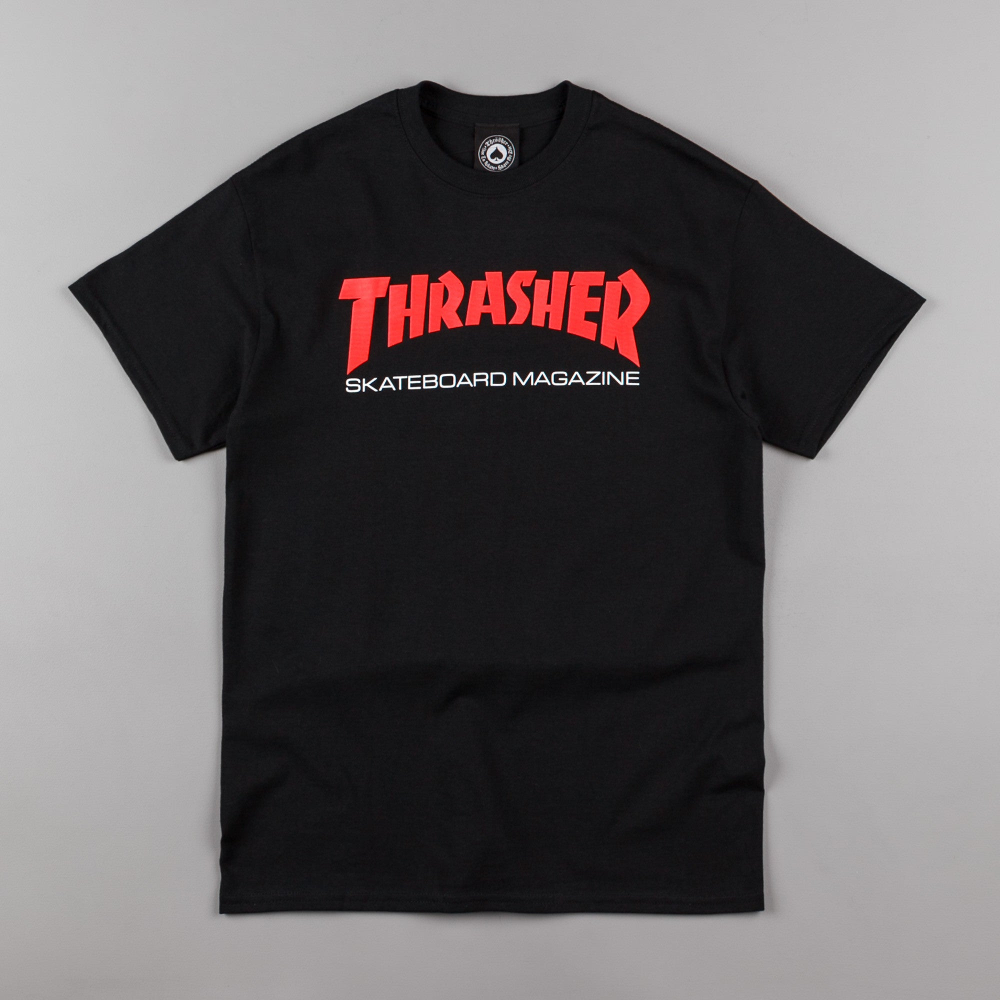 Thrasher Two Tone Skate Mag T-Shirt - Black