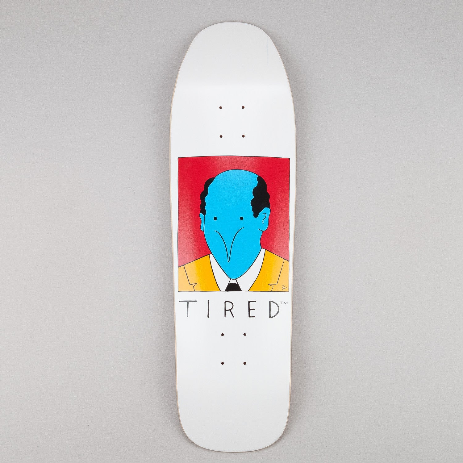 Tired Bald Guy Deck 9.25""