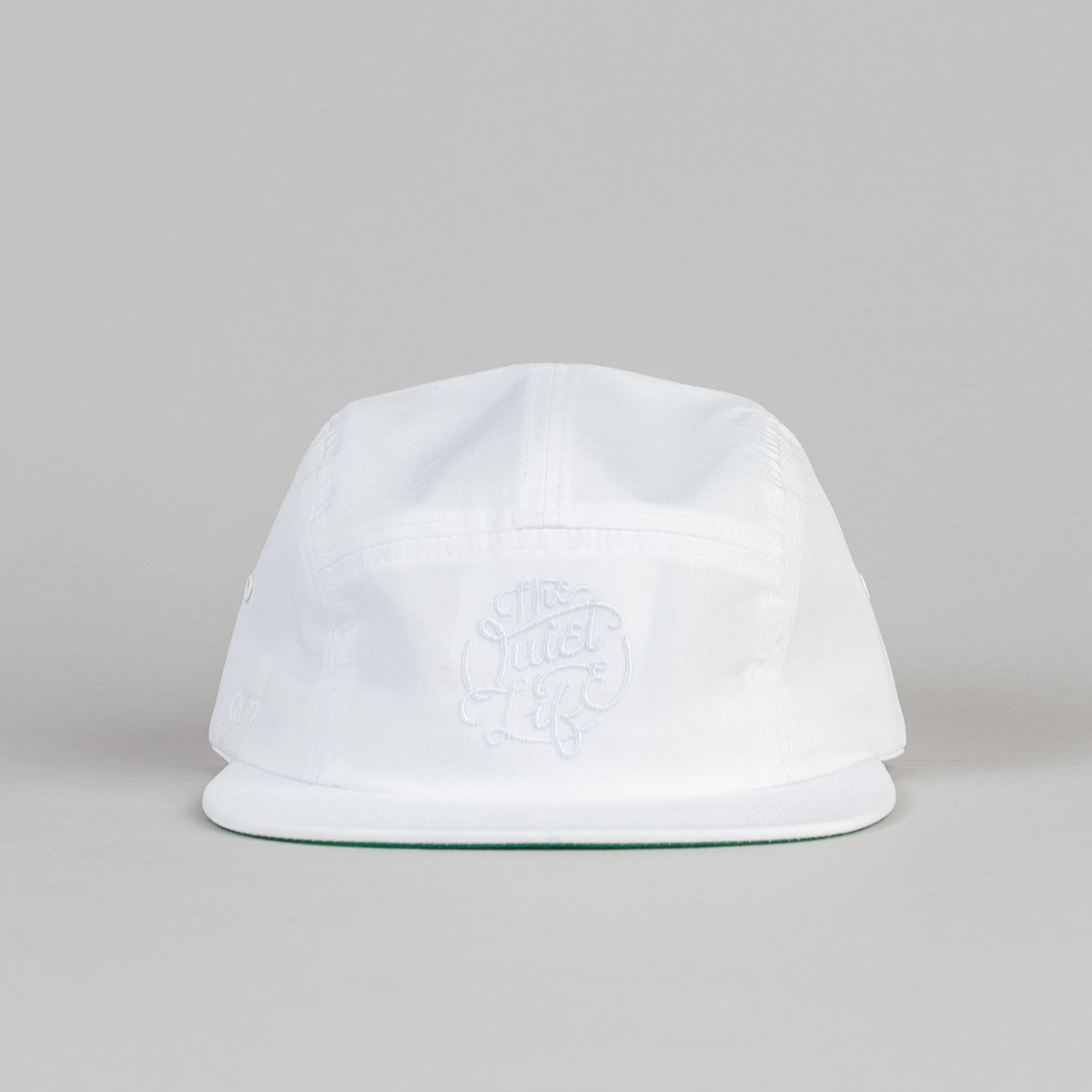 The Quiet Life Court 5 Panel Cap - White