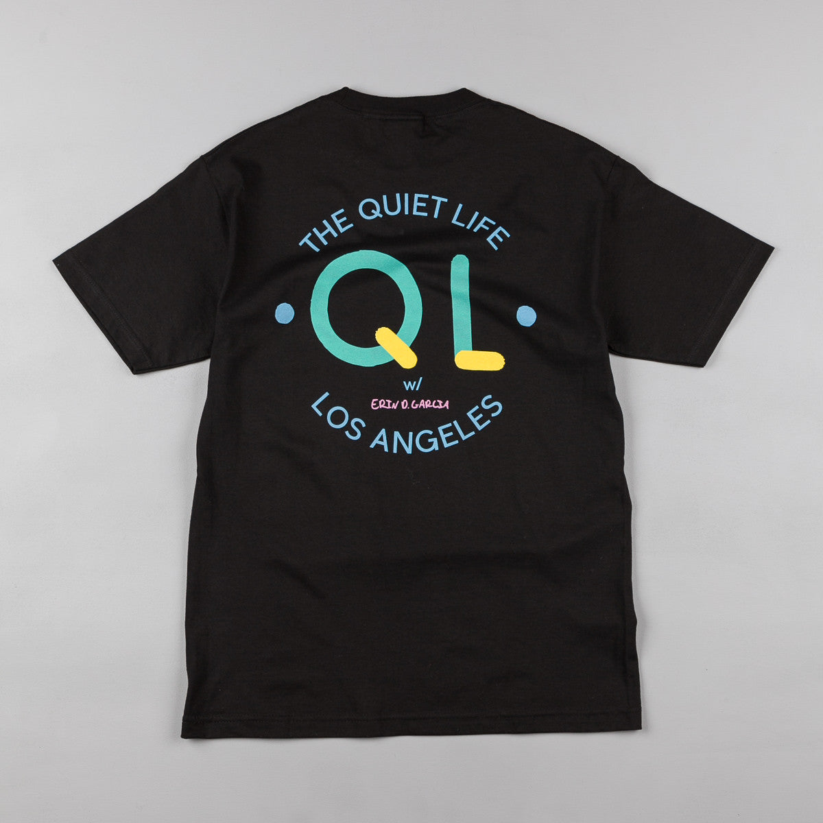 The Quiet Life Garcia Logo T-Shirt - Black