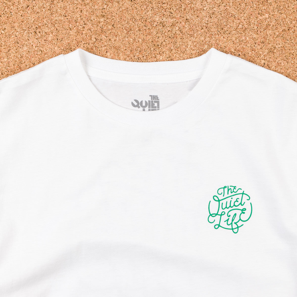 The Quiet Life Court Premium T-Shirt - White
