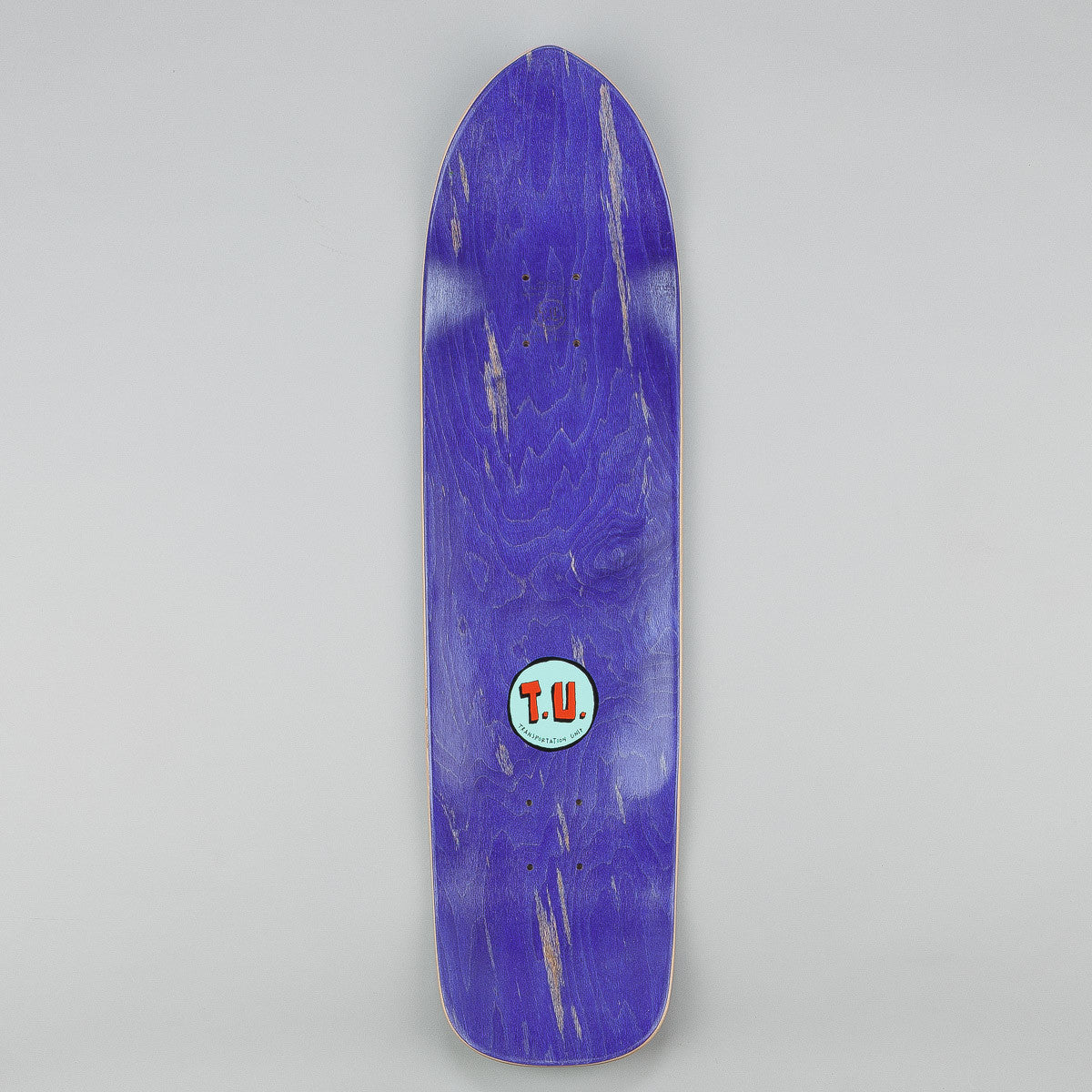 Transportation Unit Free Beer Deck - Blue 8.5""