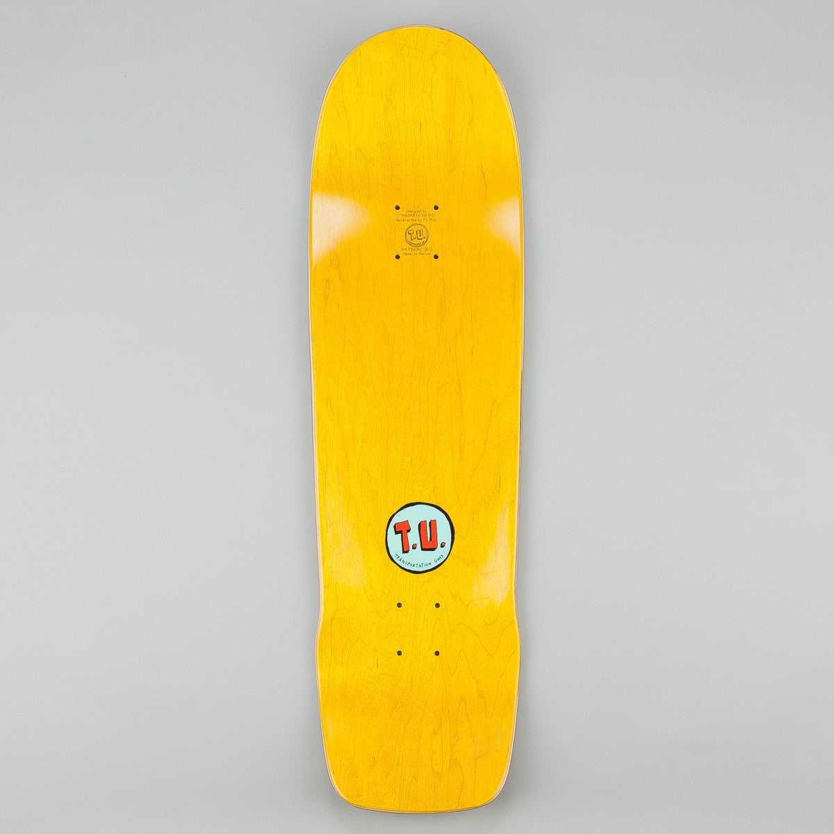 Transportation Unit G.S.D. Special Projects Deck - Yellow 9""