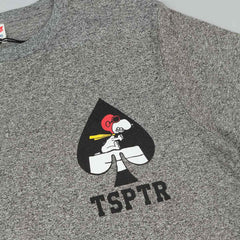 TSPTR Flight Of Ace Of Spades T-Shirt - Grey Marl