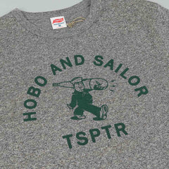 TSPTR X Hobo And Sailor Bomb Carrier T-Shirt - Grey Marl