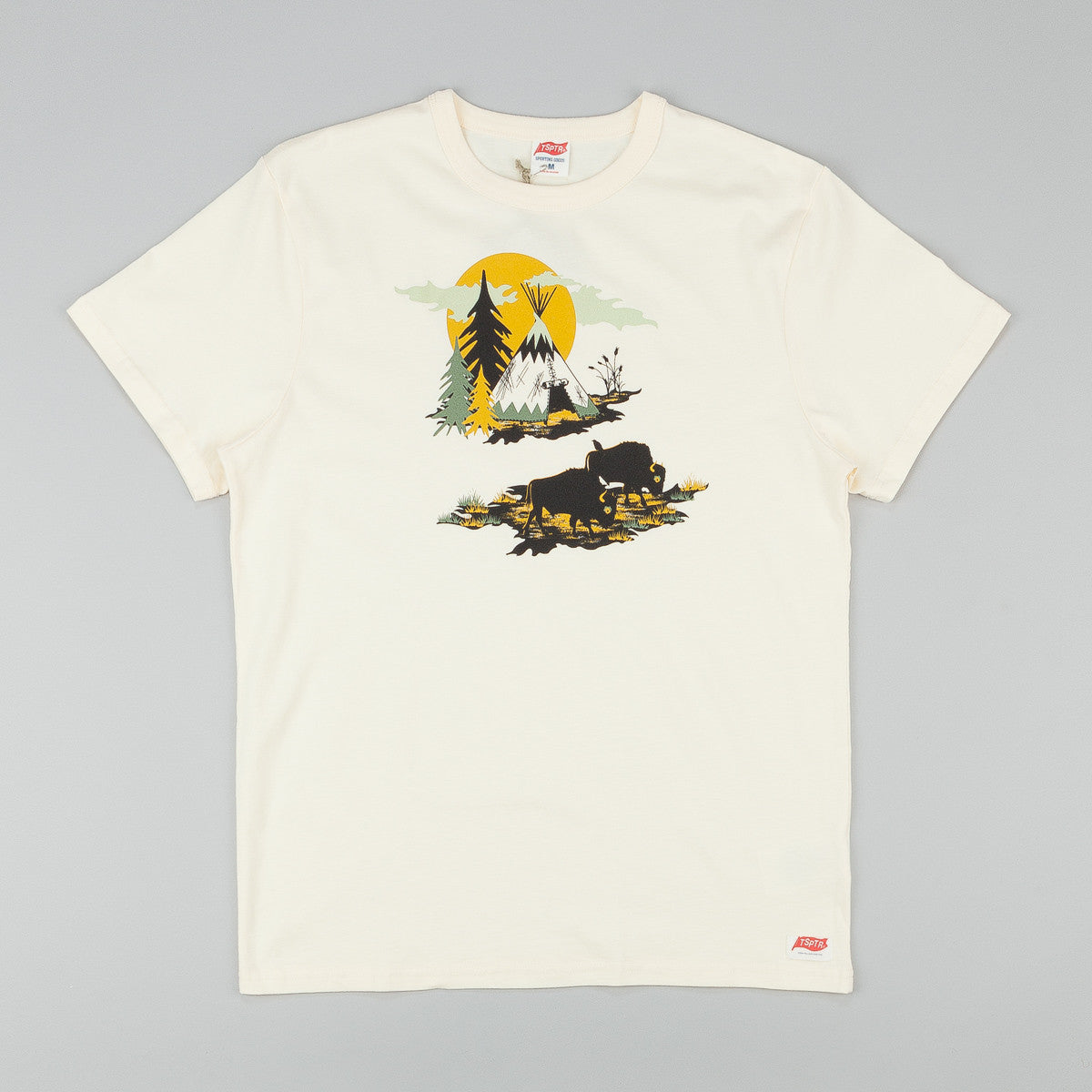 TSPTR X Knight Mills Bison Autumn Plains T-Shirt