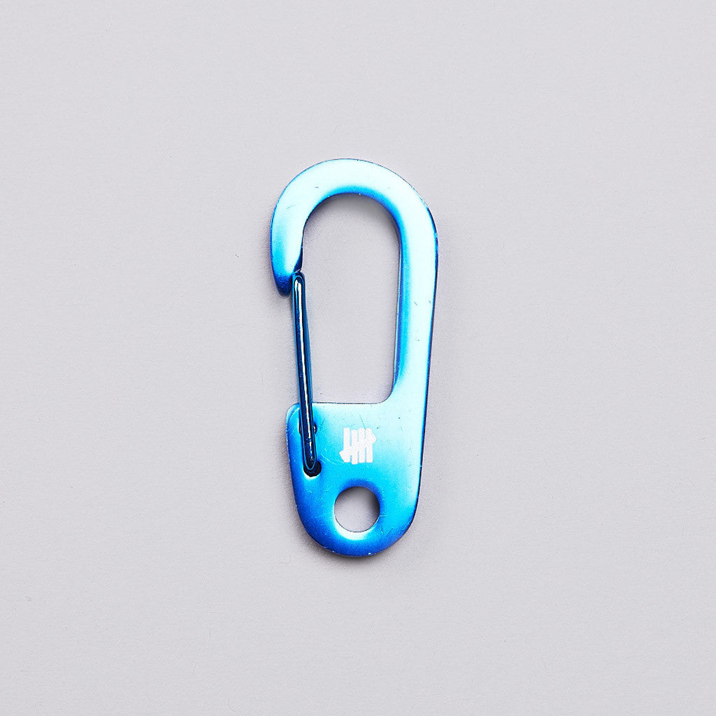 Undefeated Alloy Carabiner Blue