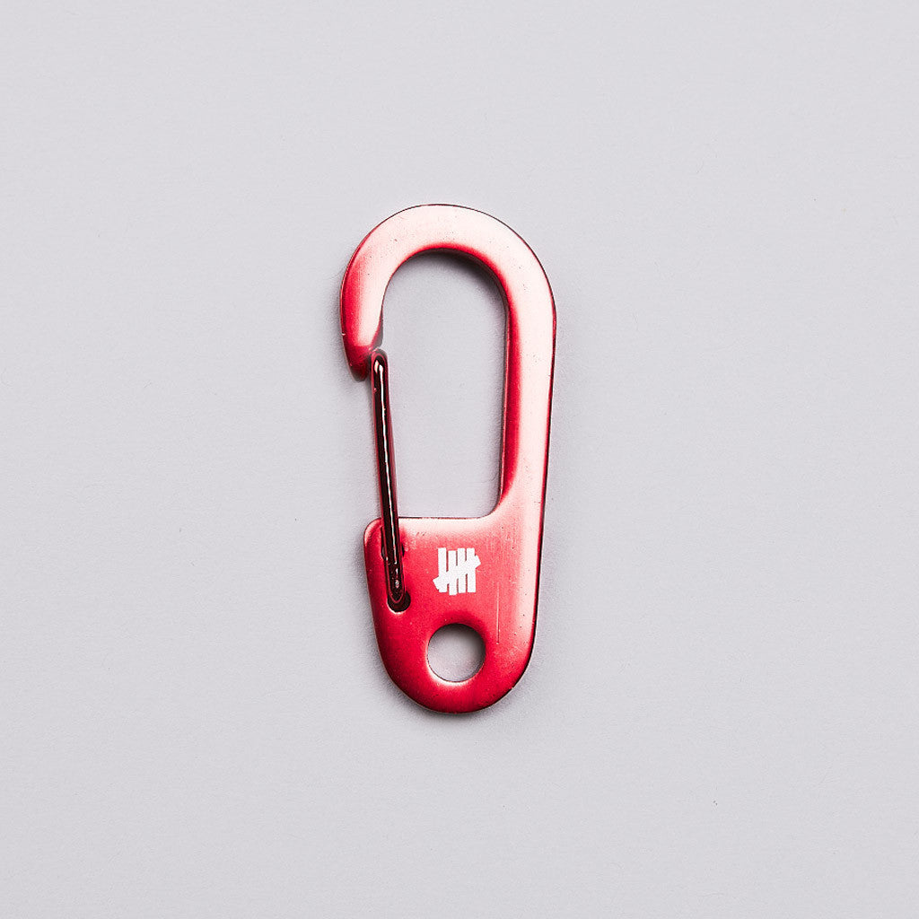 Undefeated Alloy Carabiner Red