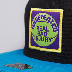 Undefeated Real Bad Starter Snapback Cap Black
