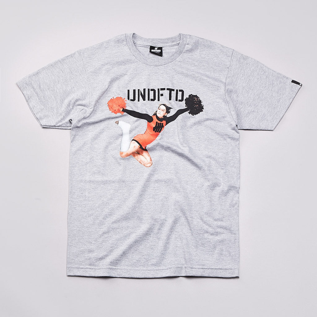 Undefeated Spirit T Shirt Grey Heather