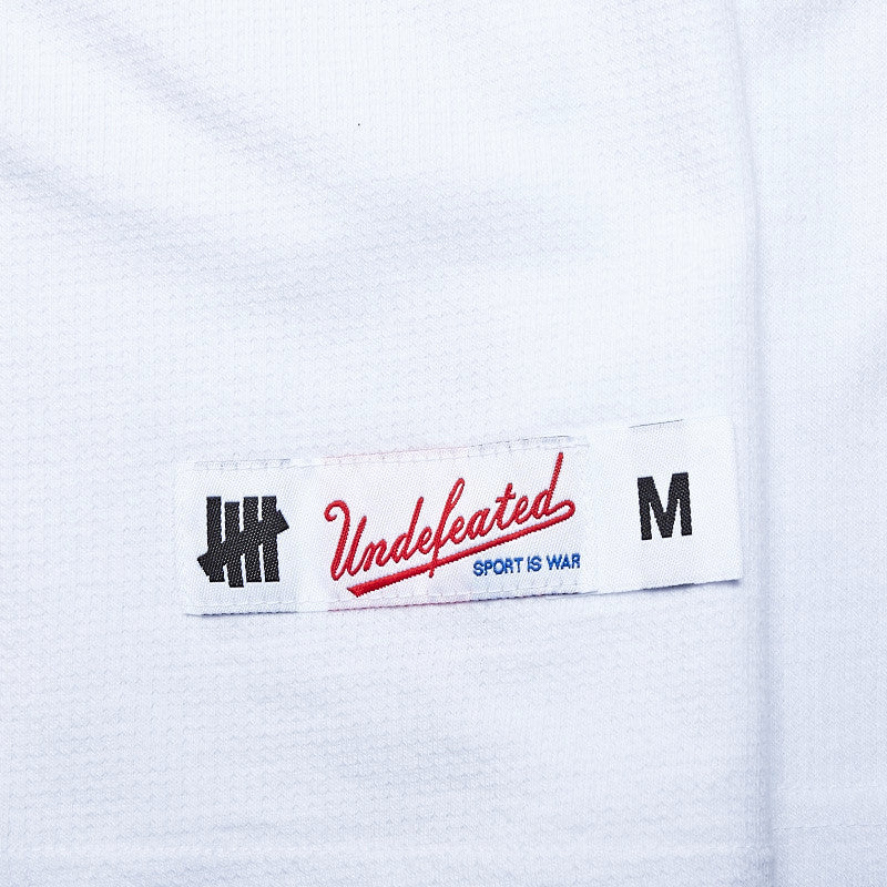 Undefeated Blitz L/S T Shirt White
