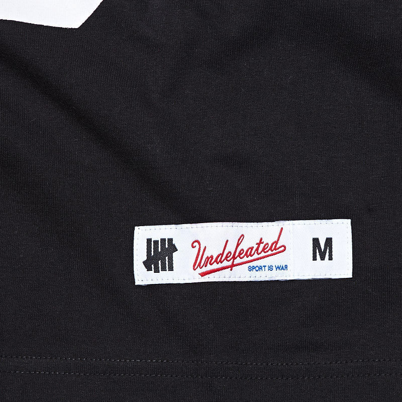 Undefeated Gridiron T Shirt Black